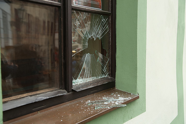 A2B Glass are able to board up broken windows while they are being repaired in Enfield.
